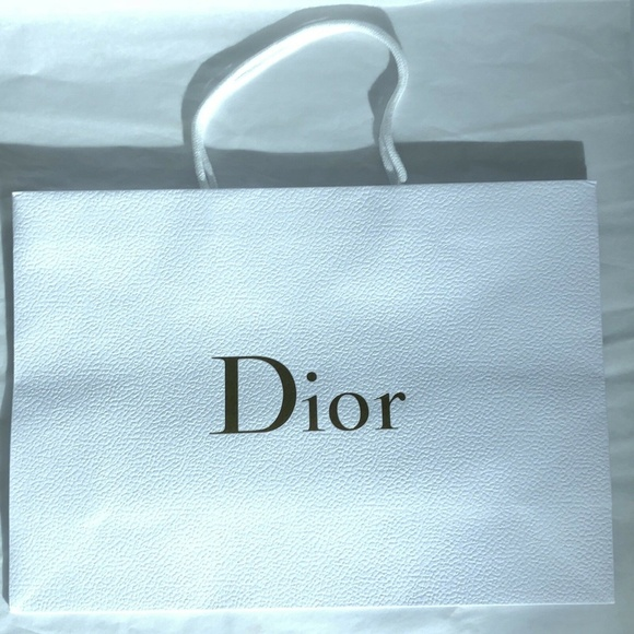 """0a470a631f93 Dior Handbags - DIOR Large Paper Gift Shopping Bag 16.5""""x12""""5"""""""